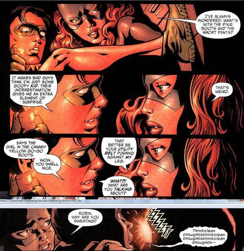 batgirl a matter of family ending relationship